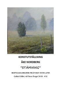 Åke Nordberg affisch