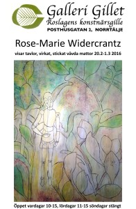 Affisch-Rose-marie-Widercrantz